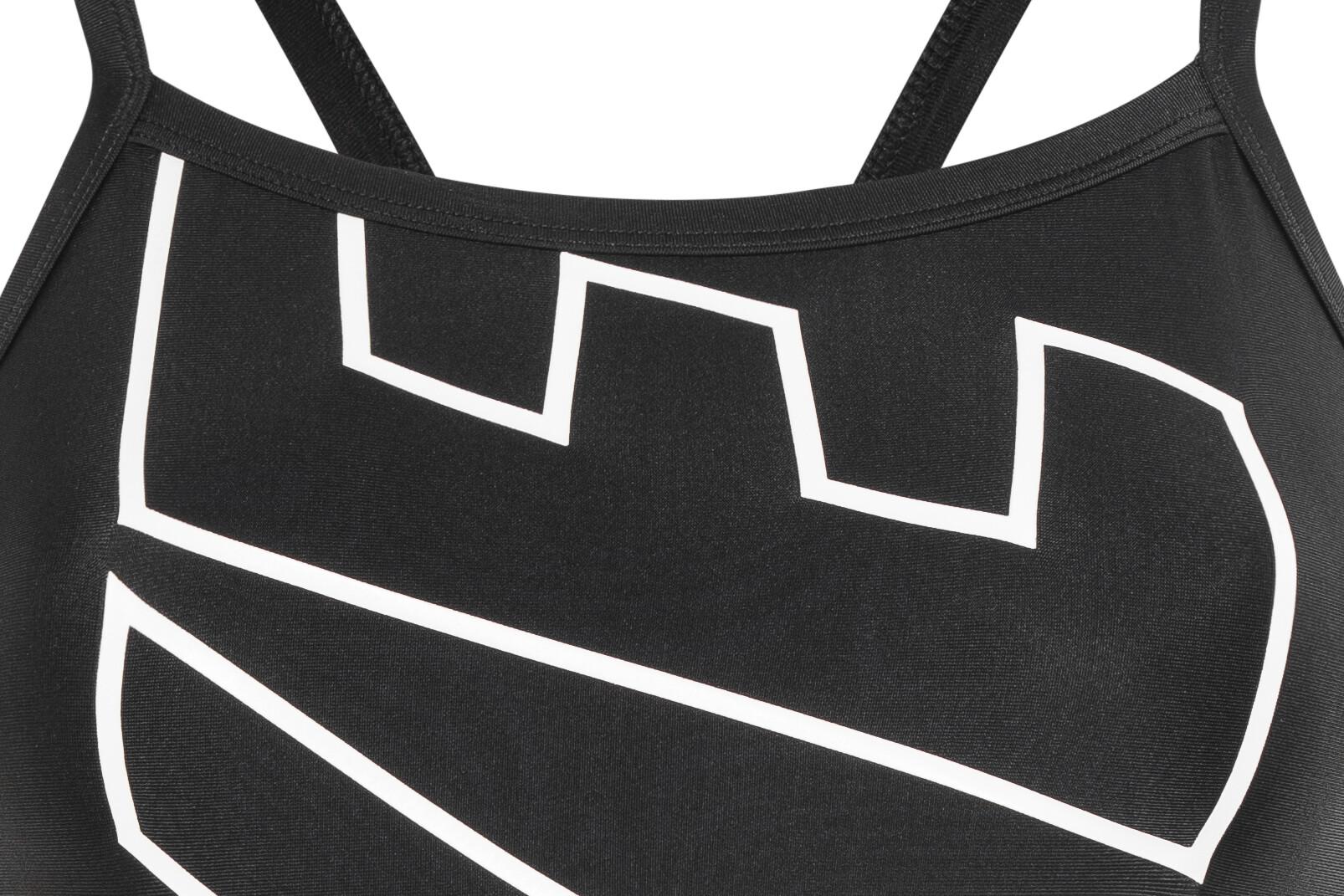 Nike Swim Lodge Racerback costume intero Donna, black su Addnature VyjGp